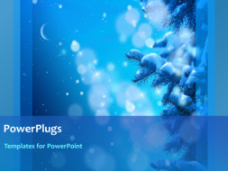 PowerPoint Template - Christmas background